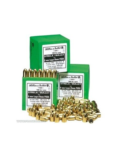 Sellier & Bellot 9 mm FMJ 124 gr.