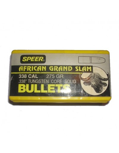 Speer .338 TUG Core Solid 275 gr.