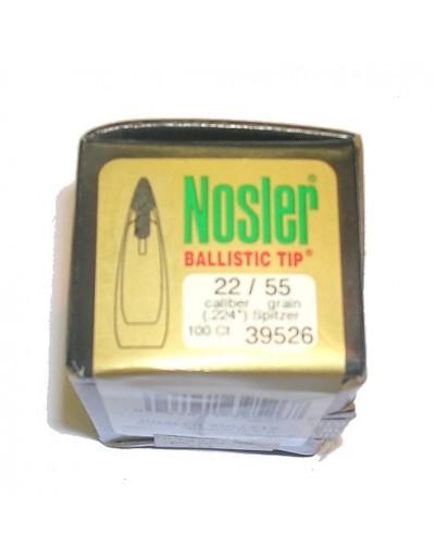 Nosler .22 Ballistic Tip 55 gr.