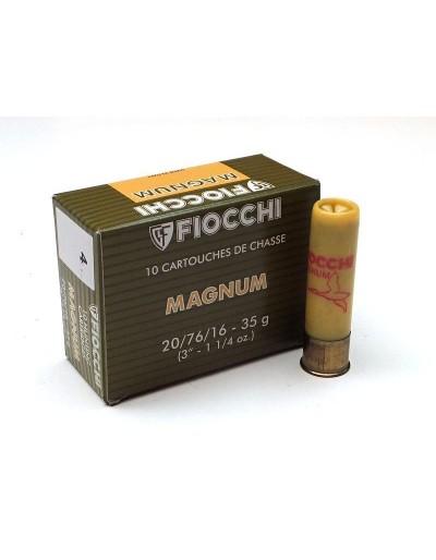 Cartucho Fiocchi Magnum 20/76