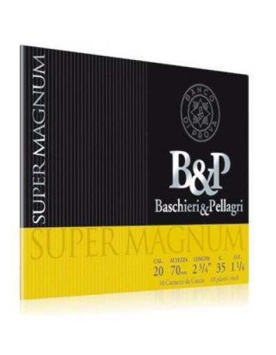 Cartucho Baschieri & Pellagri Supermagnum 20/76