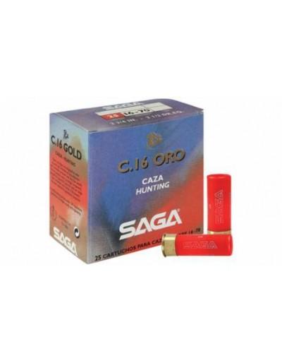 Cartucho Saga Oro 16/70