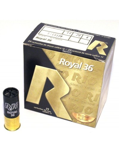 Cartucho Royal 36 12/70