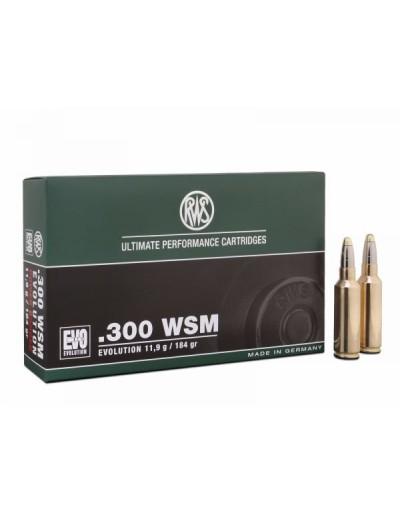 Munición RWS .300 WSM EVO 184 gr.