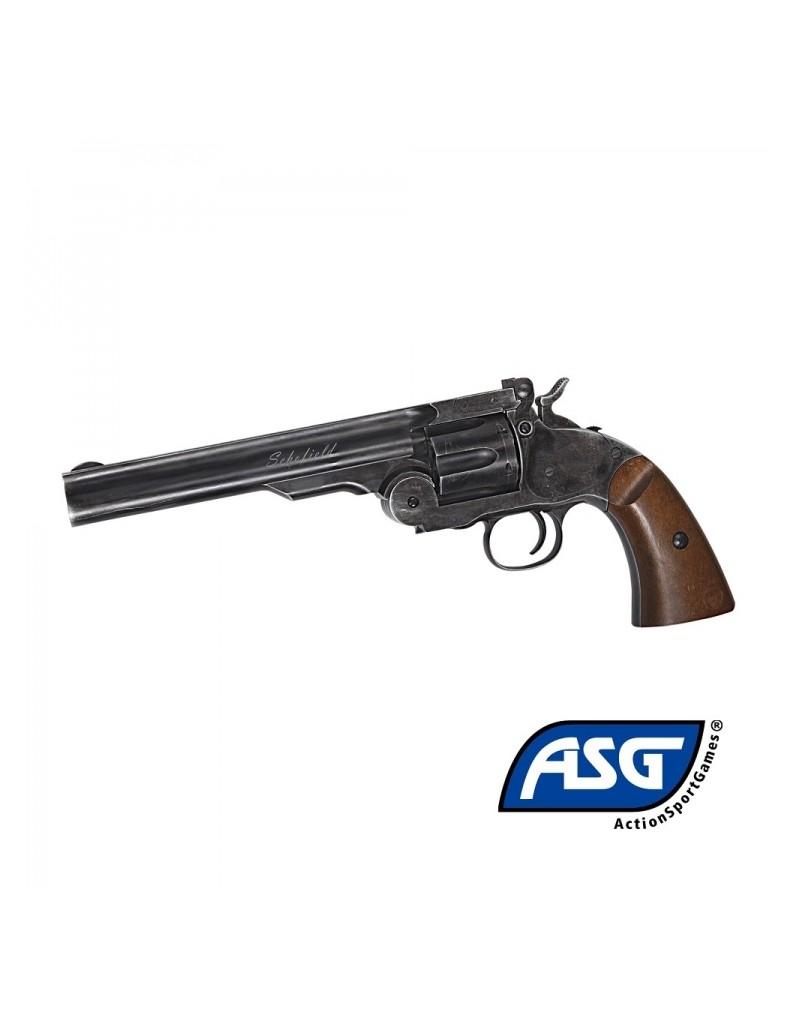 Revolver ASG Schofield CO2 4,5