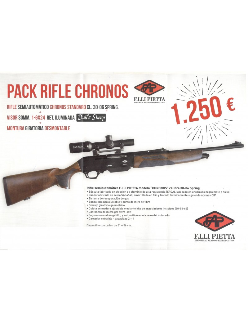 Rifle F. Lli Pietta Chronos