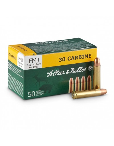 Sellier & Bellot 30 Carbine FMJ 110 gr.