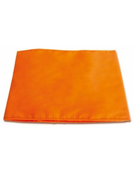 Brazalete naranja para cazar