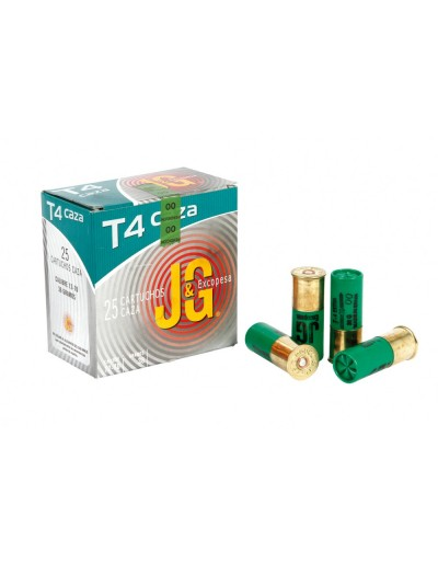 Cartucho J&G T-4 12/70