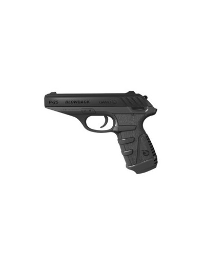 Pistola Co2 Gamo P-25 Blowback