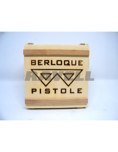 Pistola Llavero Mini Berloque 2 mm
