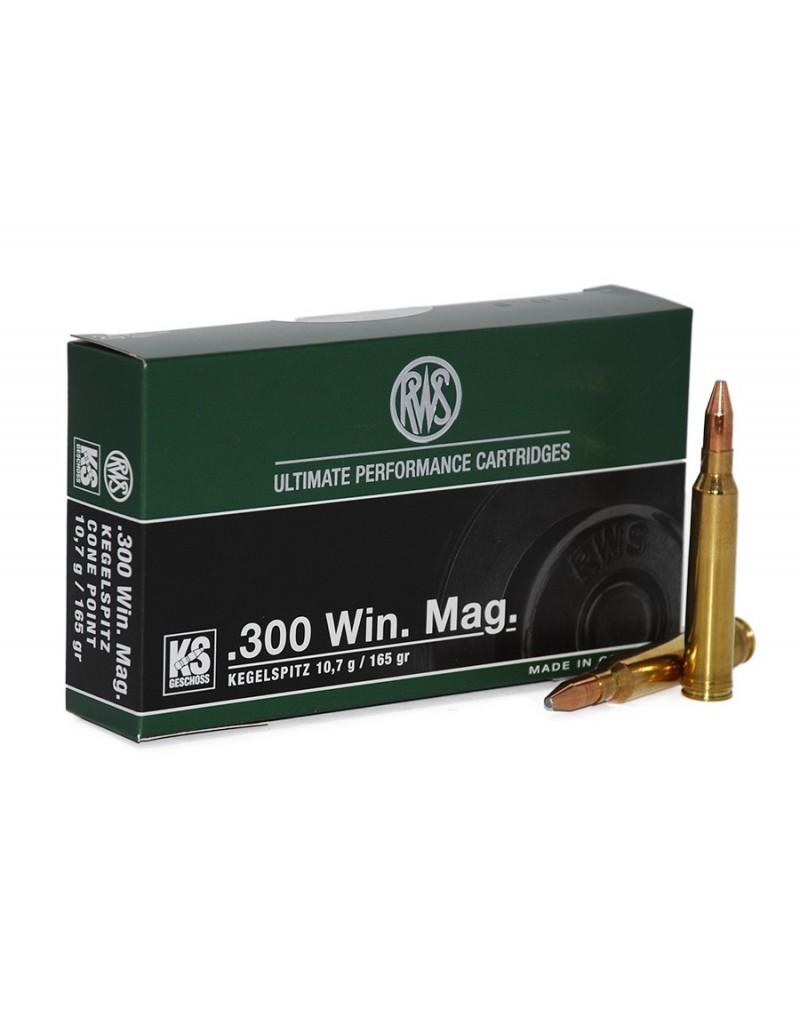 RWS .300 WIN.MAG. KS 165 GR.