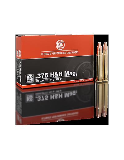 RWS .375 H&H MAG. KS 299 GR.