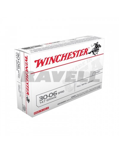 Winchester .30-06 FMJ 147 gr.