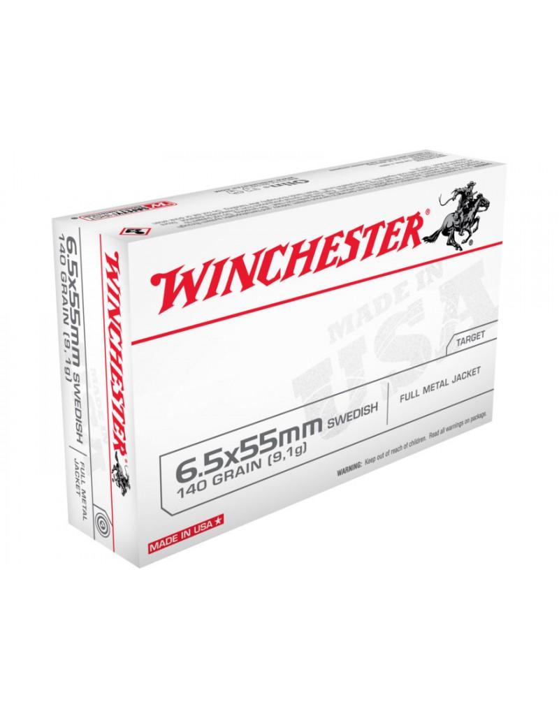 Winchester 6,5x55 FMJ 140 gr.