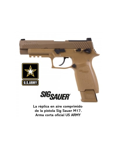 Pistola CO2 Sig Sauer M17 ASP Coyote