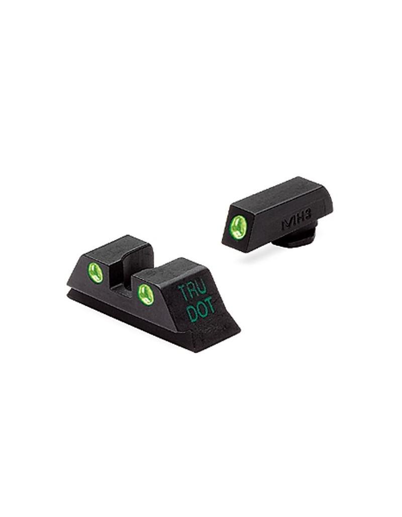 Set alza y punto Meprolight Tritio para Glock