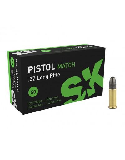 Munición Lapua SK Pistol Match en cal. 22 LR