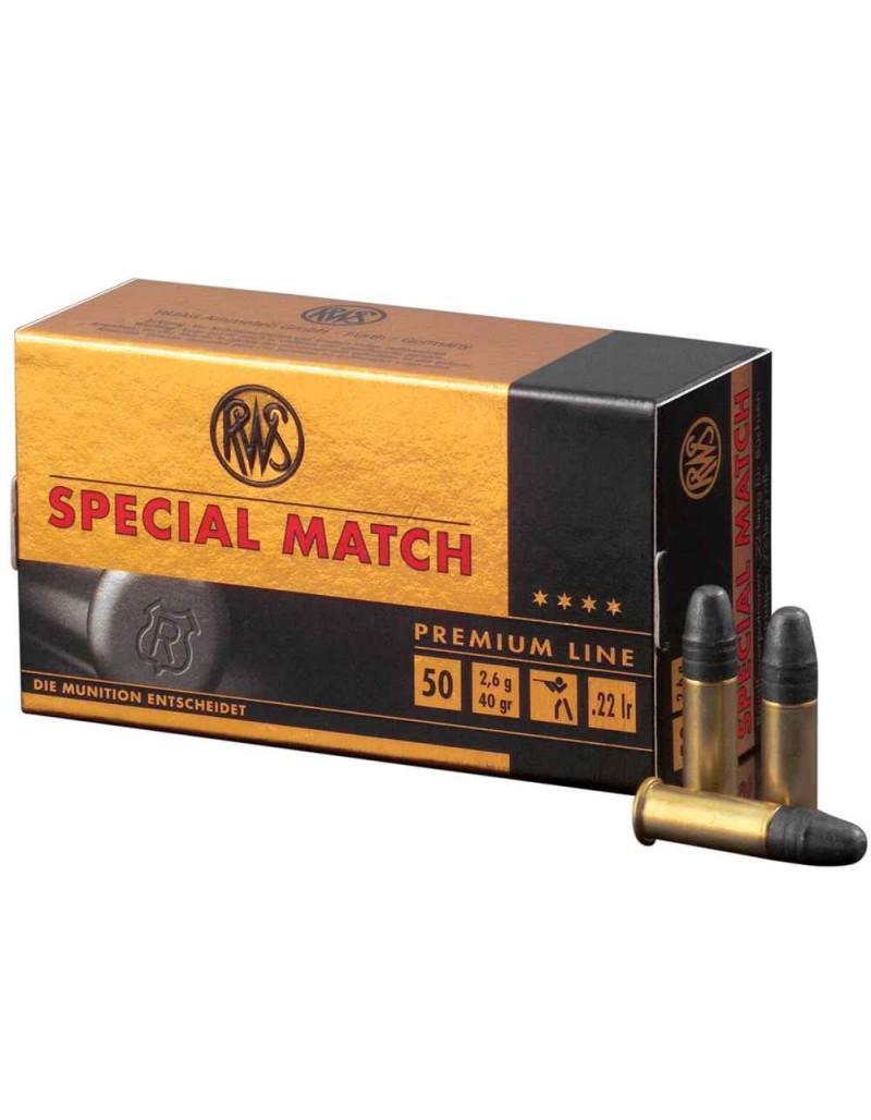 Munición RWS cal. 22 LR Special Match