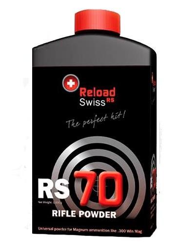 Pólvora Reload Swiss RS70