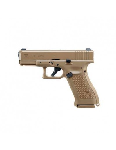 Pistola Co2 Glock 19X Coyote