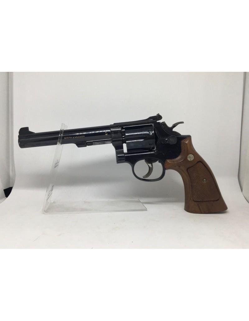 Revolver smith & wesson k14 en calibre 38.