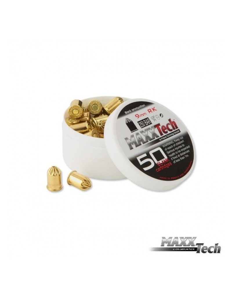 cartucho detonador 9 mm RK