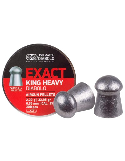 Balin JSB Exact King Heavy 6,35 (.25)