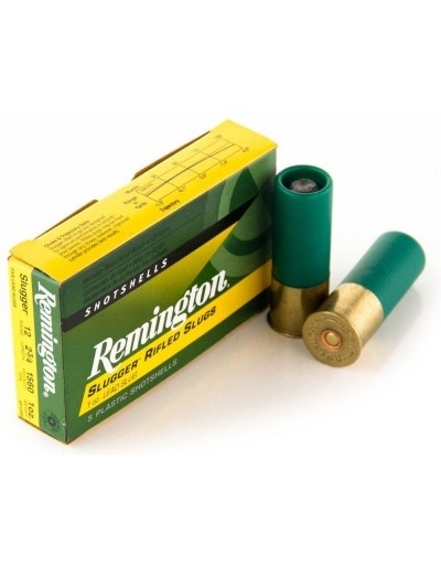 Cartucho Bala Remington Slugger 12/70