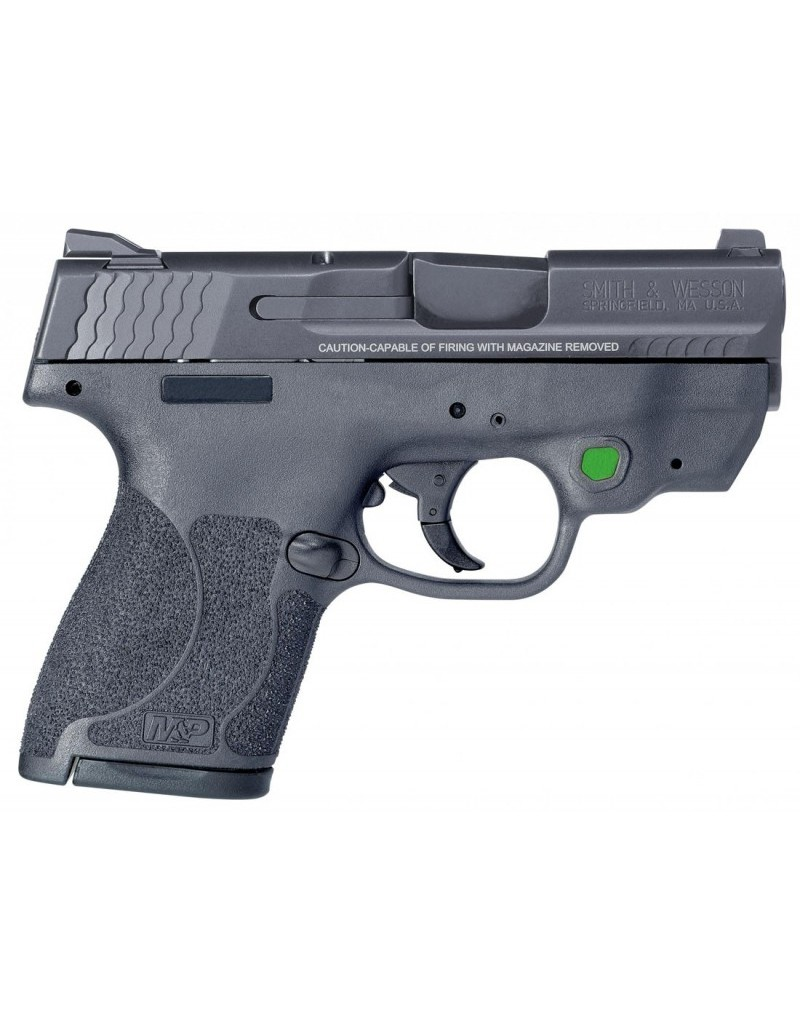 Pistola Smith & Wesson M&P9 Shield M2.0 láser Verde
