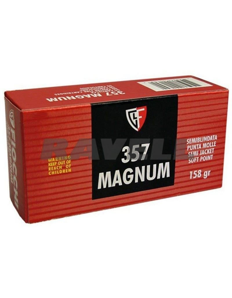 Fiocchi 357 Mag. SJSP 158 gr.