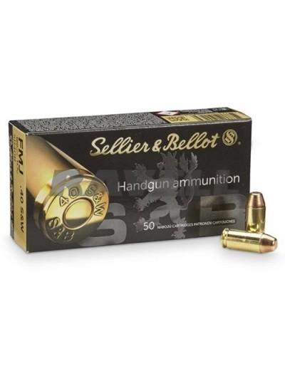 Sellier & Bellot 40 S&W FMJ 180 gr.