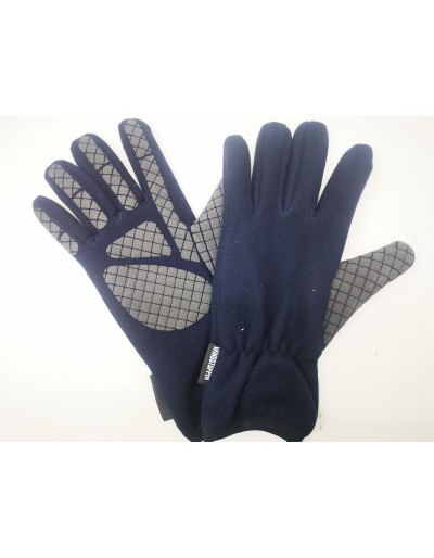 guantes forro polar azul windstopper