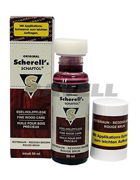 Aceite Scherrell Shaftol Rotbraun 50 mL