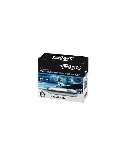 Capsulas Walther CO2 & Oil (5 uds)