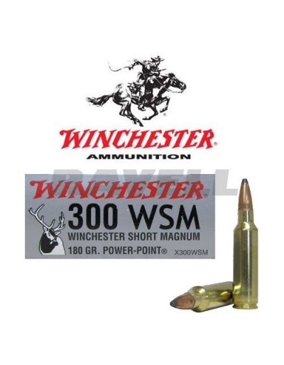Winchester Super-X .300 WSM PP 180 gr.