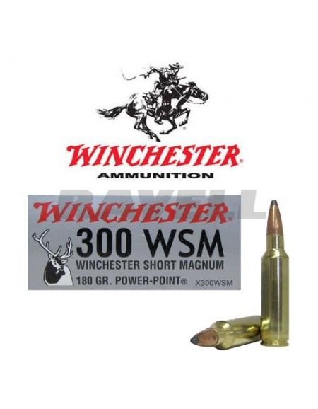 Winchester Super-X .300 WSM PP 180 gr.