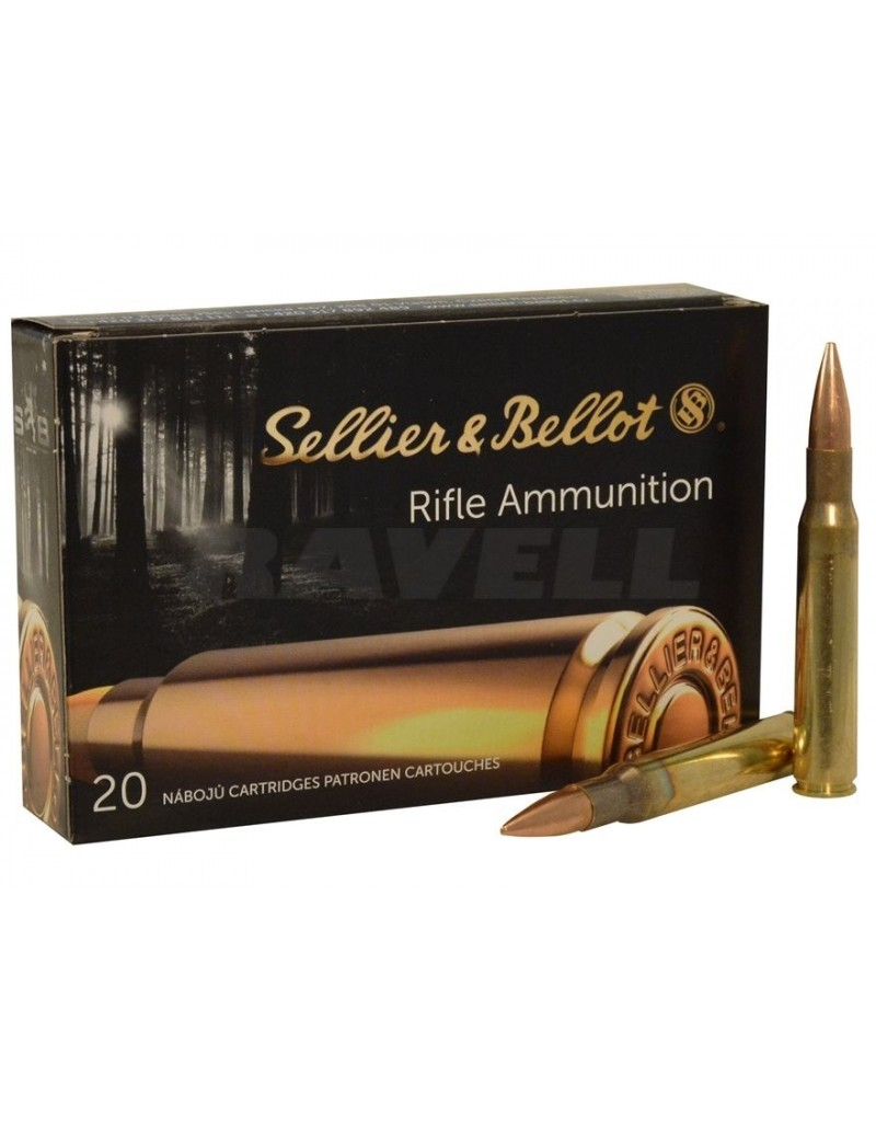 Sellier & Bellot .8x57 JS SP 196 GR.