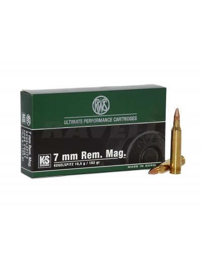 RWS .7 mm Rem. Mag. KS 162 gr.