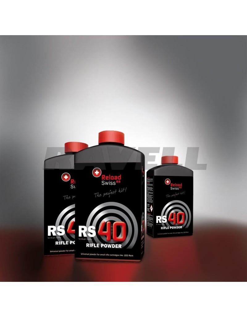 Pólvora Reload Swiss RS40