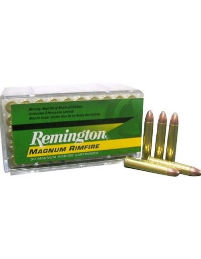 Munición Remington Magnum Rimfire .22WM