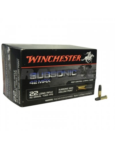 Winchester Subsonica .22 LR