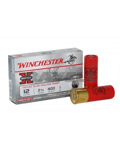 Cartucho Winchester Slug Super-X 12/70