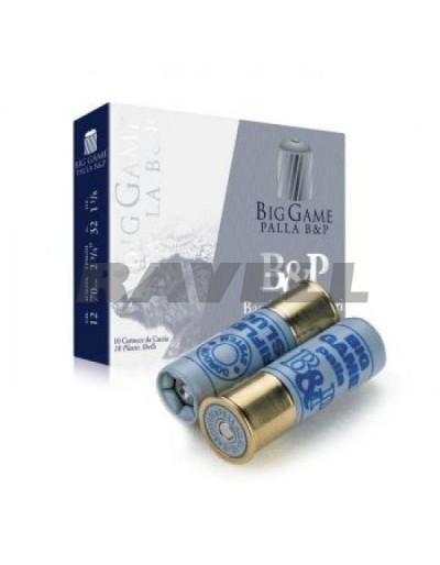 Cartucho B & P Big Game Slug 12/70