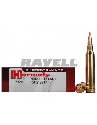 Hornady 7 mm Rem Mag SST 154 gr