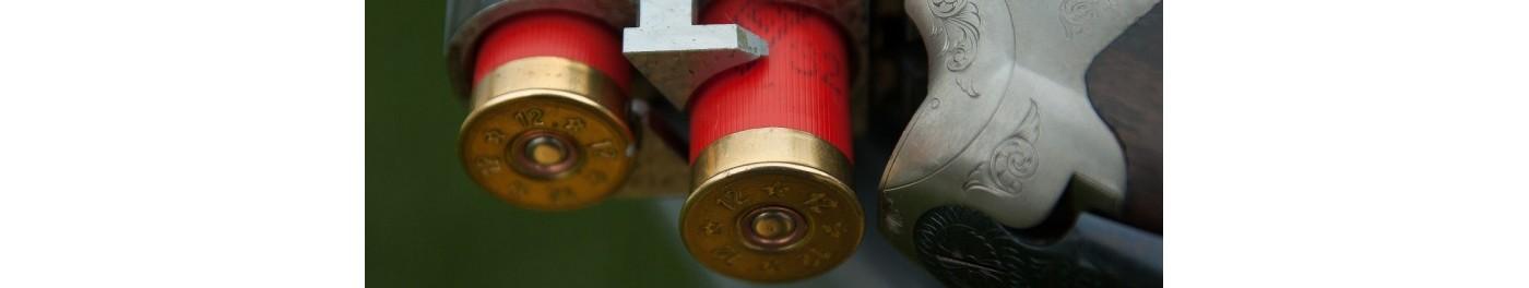 Cartuchos de caza para escopeta o para el tiro al plato y postas